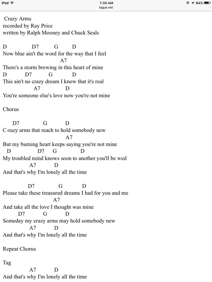 Crazy Arms By Ray Price With Images Ukulele Chords Songs