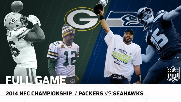 Packers vs. Seahawks: 2014 NFC Championship Game | Aaron Rodgers vs. Rus...