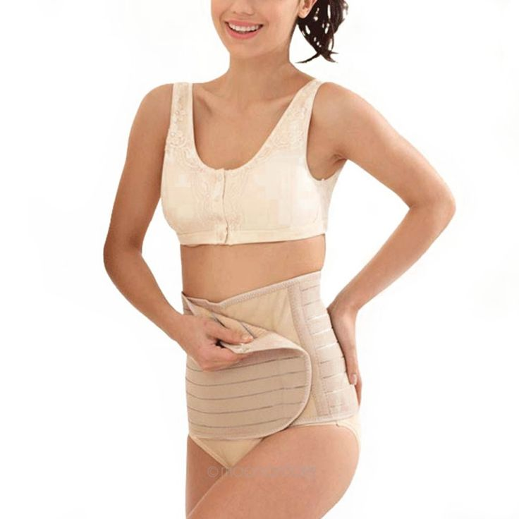 Womens Post Natal Belt Body Slimming Shaper Corset Postpartum Girdle Bustier