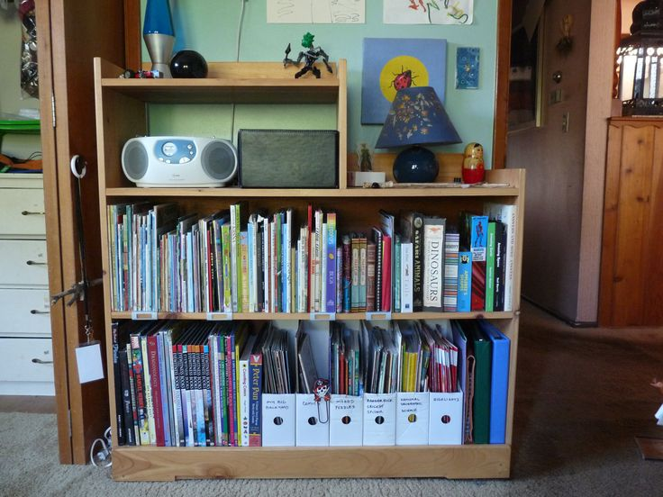 2011 Custom Book Shelf With Secret Drawer Design