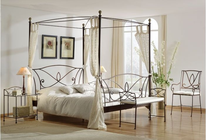 1000 id es sur le th me lits en fer forg sur pinterest. Black Bedroom Furniture Sets. Home Design Ideas