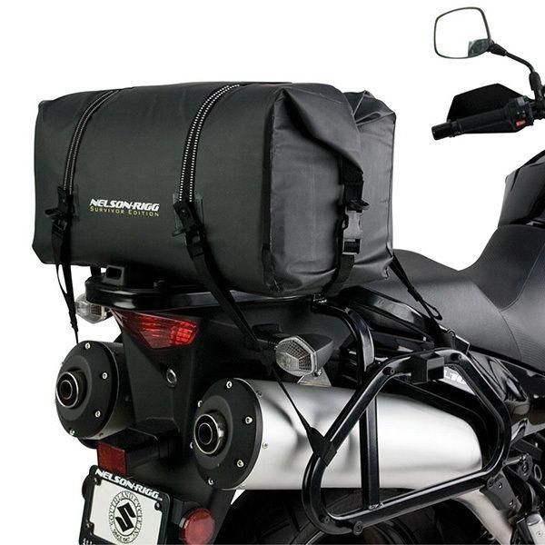 Nelson-Rigg SE-2020 Black Large Survivor Adventure Dry Motorcycle Bag at MXstore