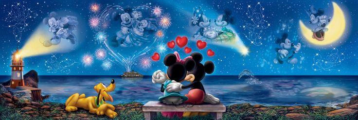 Clementoni Puzzle 1000 Teile Disney: Mickey und Minnie (39287) in Spielzeug, Puzzles & Geduldspiele, Puzzles http://nextpuzzle.de