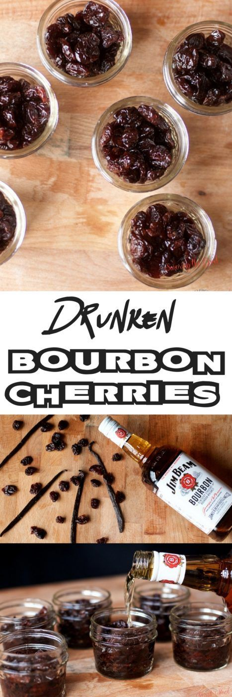 Making bourbon cherries at home is an easy DIY recipe project to stock your bar cart or to give as a hostess gift. I found these to be the best bourbon cherries and everyone always asks for my bourbon cherries recipe. It is up to you how many bourbon soaked cherries you will use to garnish your cocktail. I won't tell! #bourbon #bourboncherries #cocktail #cocktailgarnish