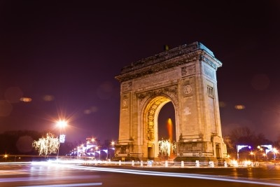 The Arch of Triumph by night in Bucharest, Romania.It closely resembles with the one in Paris, just it is smaller,    www.intermedline.com and https://www.facebook.com/pages/INTERMEDLINE-BUCHAREST-dentalaesthetic-surgerybalnearytravel/253595104655756   medical tourism,health, healthcare, dental, dentistry, dental treatments,dental implants, cosmetic surgery,aesthetic surgery,plastic surgery ,private clinics, beauty, balneotherapy,spa, travel, travel in Romania.