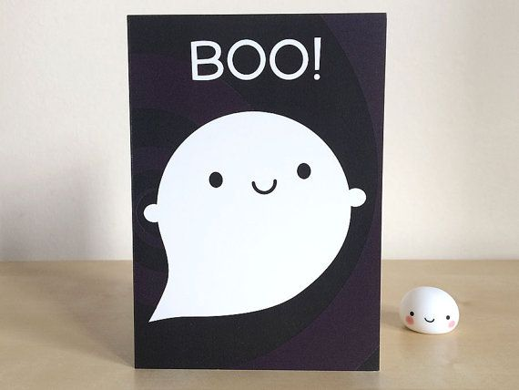 Hey, I found this really awesome Etsy listing at https://www.etsy.com/listing/189146042/boo-happy-ghost-card-kawaii-halloween
