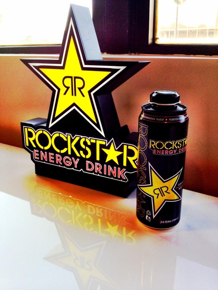 35 best Rockstar energy drink images on Pinterest | Rockstar energy ...