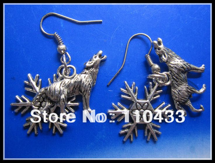Nymeria the Dire Wolf of the House Stark Game of Thrones Earrings ER287  //Price: $US $26.00 & FREE Shipping //     #gameofthrones #gameofthronestour #gameofthronesfamily  #starks
