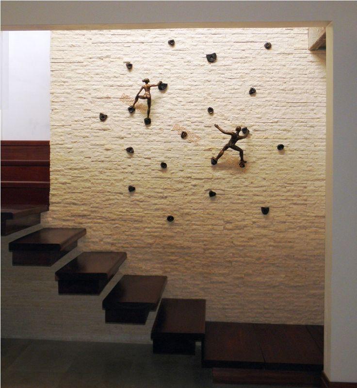 M s de 1000 ideas sobre paredes de la escalera en - Como evitar humedades en las paredes ...