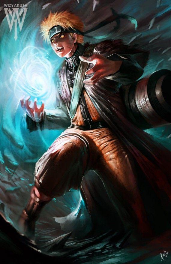Les fan arts geeks de Wizyakuza - Naruto