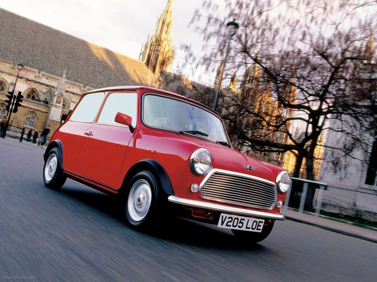 The classic Mini is just... cool