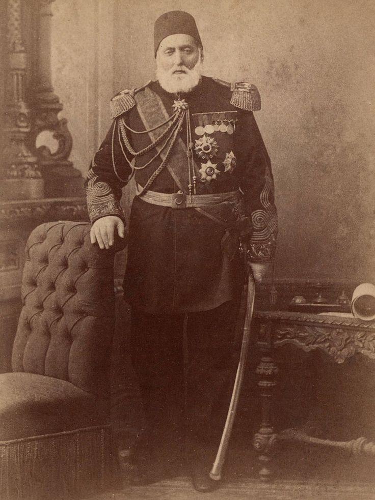 Kurt Ismail Pasha, Governor of Erzurum, 1877