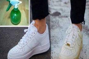 Így varázsold hófehérré a besárgult cipőd! Mutatjuk a trükköt! - Tudasfaja.com