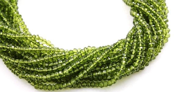 SALE Irradiated Luxurious Green Topaz Micro Faceted by Beadspoint, $9.99