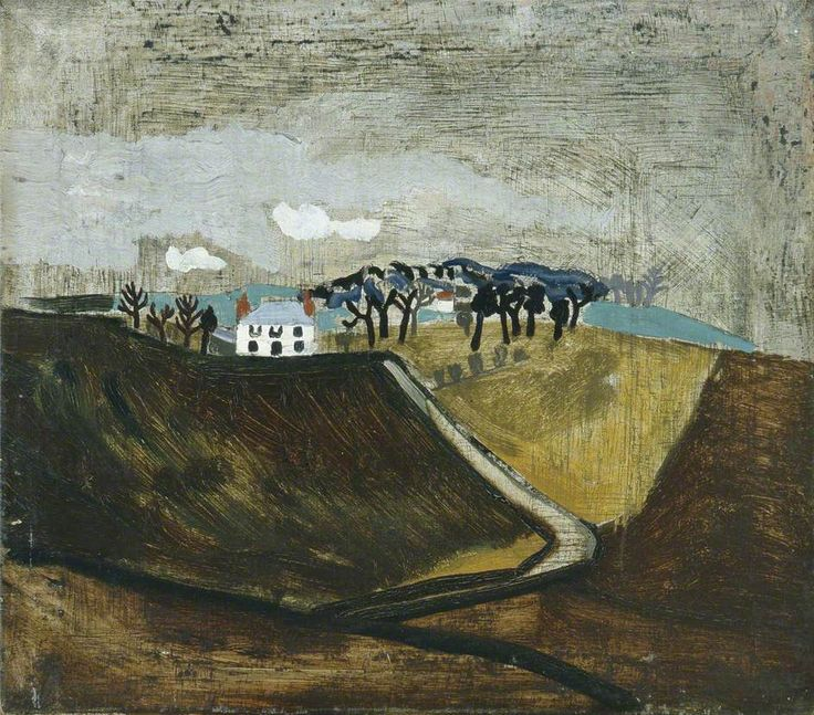 British Paintings: 1930 (Cumberland farm) - Ben Nicholson