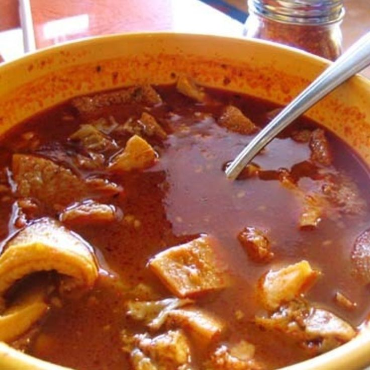 DELICIOUS MENUDO Recipe | Just A Pinch Recipes