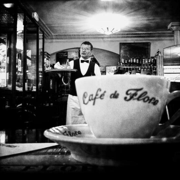 Cafe de Flore st Germain des Pres Paris (avec images