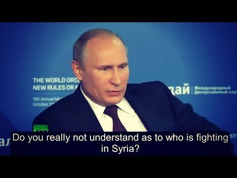 Must Watch: Putin Blows The Whistle On Who Really Created ISIS And How It Continues To Grow | True Activist