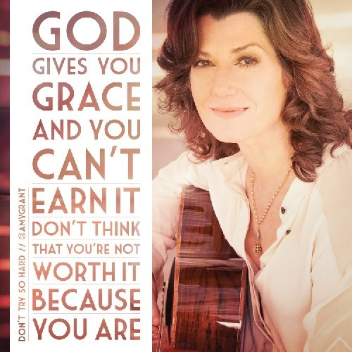 amy grant - seen live once at Christmas with Michael W. Smith