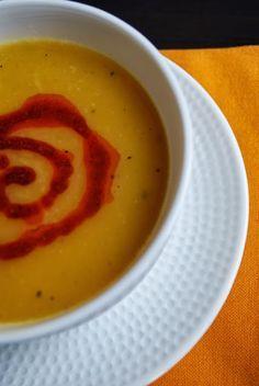 Zencefilli Bal Kabağı Çorbası - Sibel'in Kahvesi