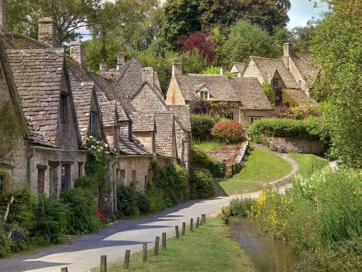 Bibury, England (often called England's most beautiful town) #travel #england