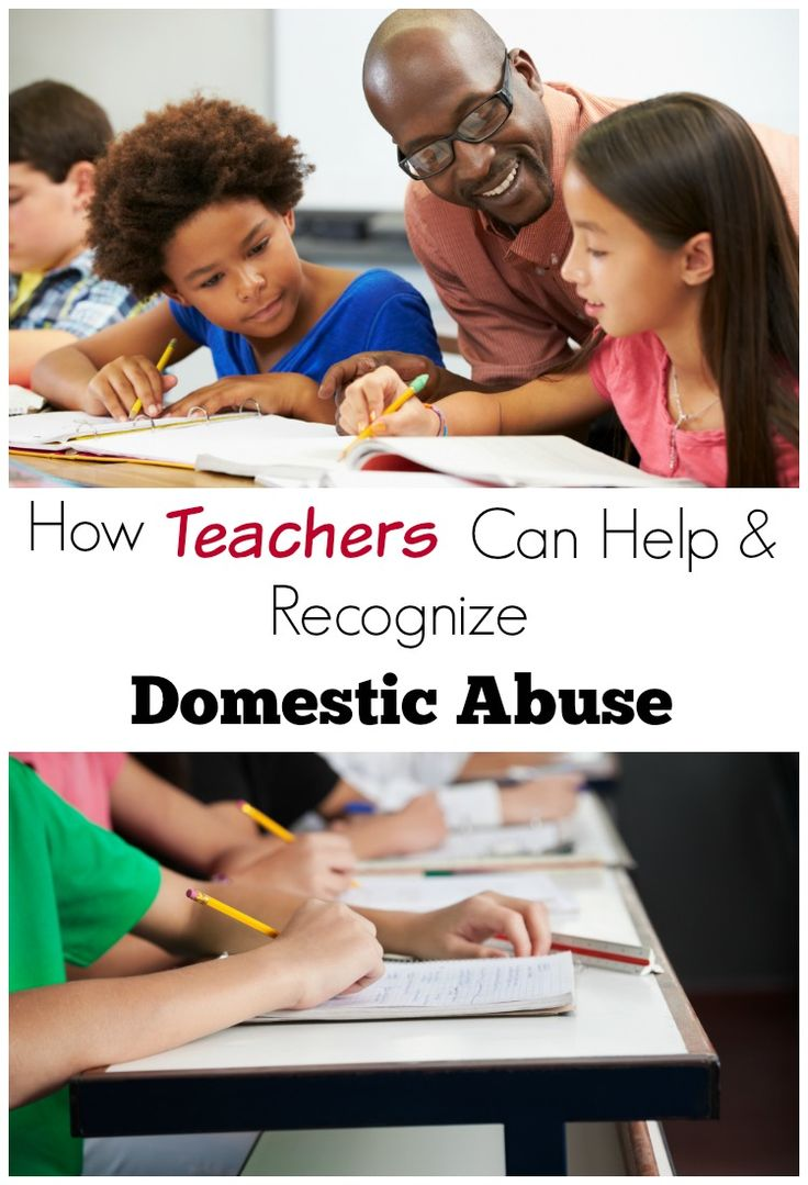 These are great tips for teachers. Definitely saving this! Teachers can really help children being abused and this is so helpful for learning what signs to recognize. Domestic abuse and teachers.