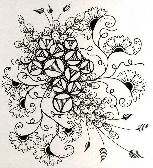 20121206_sketchbook_challenge98_Keenees_unshaded.jpg by terem13, via Flickr  Tangling without a string.