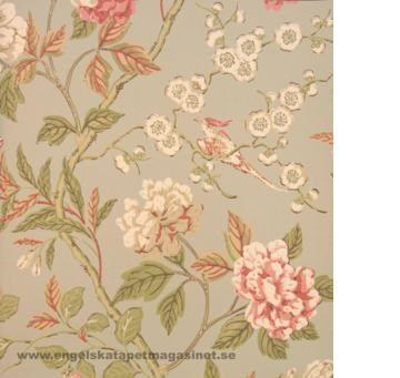 Emperor's Garden tapeter från Baker® (GB103-01) hos Engelska Tapetmagasinet. ✓ Beställ fraktfritt online ✓ Snabb leverans