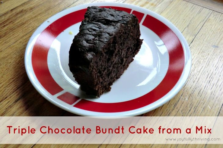 Best Choc Bundt Cake With Instant Pudding