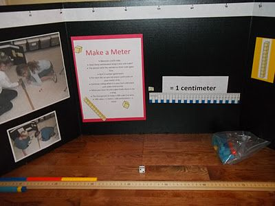 Make a Meter - Understanding the linear metric system.