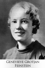 Genevieve Feinstein  Not every woman in intelligence was a spy as we think of them. Women also played a significant role as cryptanalysts and code breakers. Codes were handled by the SIS or Signal Intelligence Service. Genevieve Feinstein was such a woman and she was responsible for creating a machine used to decode Japanese messages. After WWII, she continued to work in intelligence.