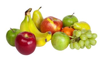What's in the fruit group?