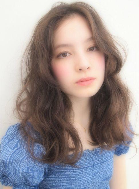 外国人風★RELAX リッジWAVE 【LOAVE AOYAMA】 http://beautynavi.woman.excite.co.jp/salon/26916?pint ≪ #longhair #longstyle #longhairstyle #hairstyle ・ロング・ヘアスタイル・髪型・髪形・セミロング≫