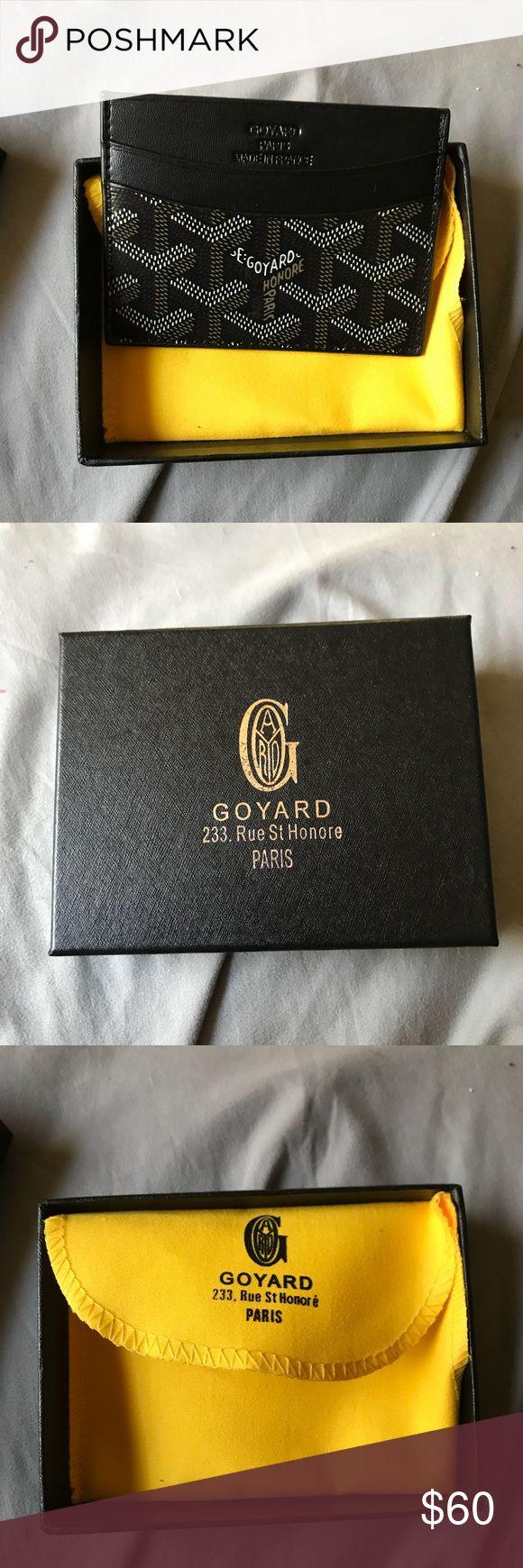 Goyard Wallet Card Holder Black Brand new Goyard Other