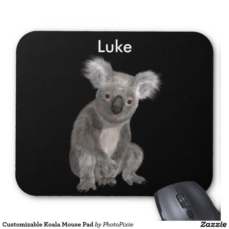 Customizable Koala Mouse Pad