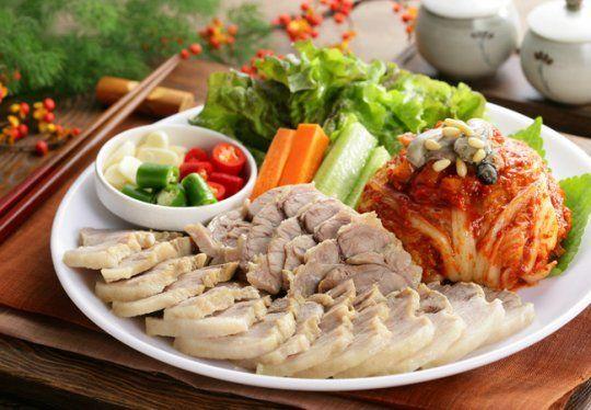 Démonstration de cuisine coréenne - Bossam (보쌈)