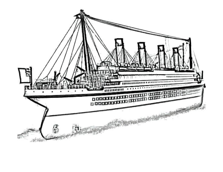 Free Printable Titanic Coloring Pages For Kids Titanic Coloring Pages Coloring Pages For Kids
