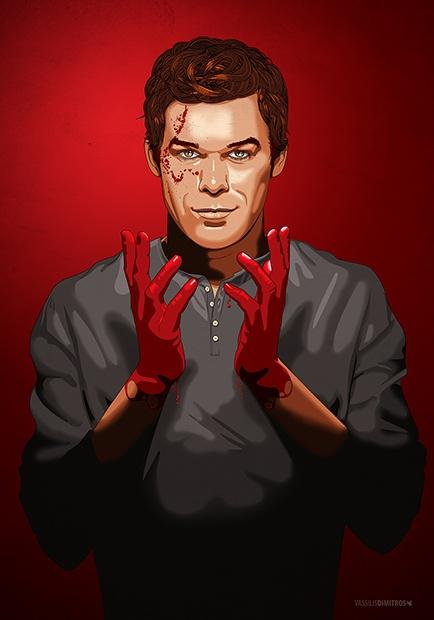 """Darkly Dreaming Dexter"" Dexter © SHOwtime"