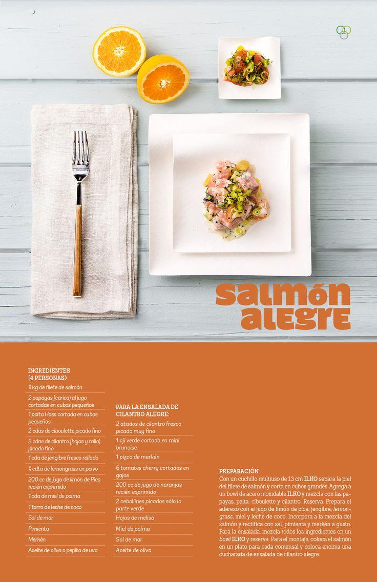 Salmón alegre / IMG Pin Campaña #Ilko #salmon