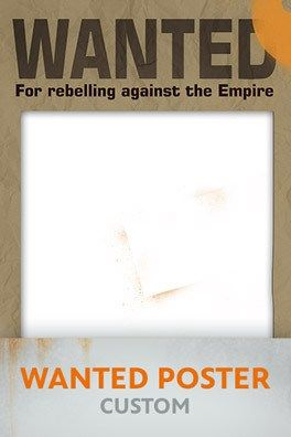 wanted poster custom - Free Disney Star Wars Rebels Printables | SKGaleana
