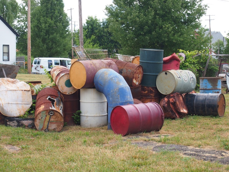 Gas cans: Gas Cans, Heidelberg Projects