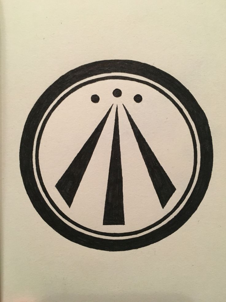 Awen, symbol of nature, inspiration, knowledge, truth.