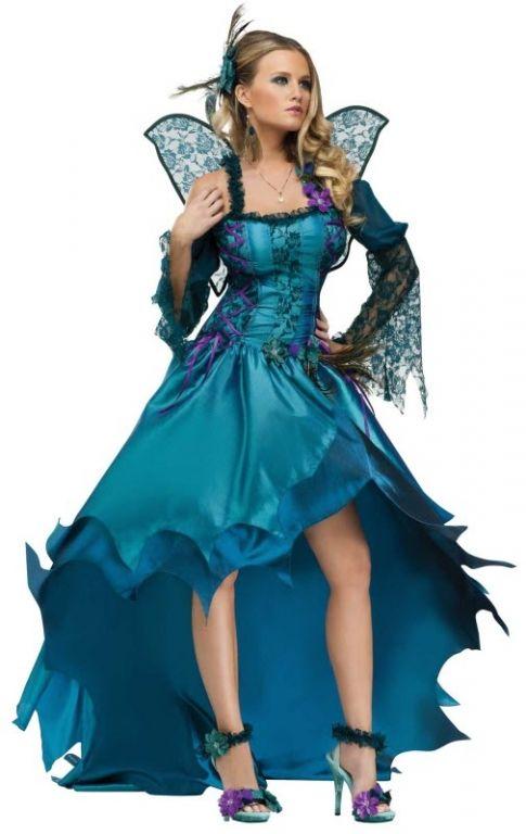 Peacock Costume - Womens Costumes