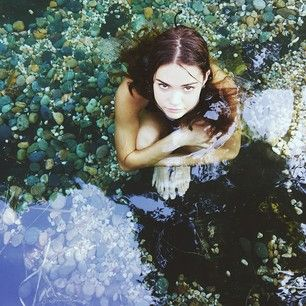 Being adorable while in a glamorous rock pool. | 20 Times Australia's Maia Mitchell Was Adorable On Instagram
