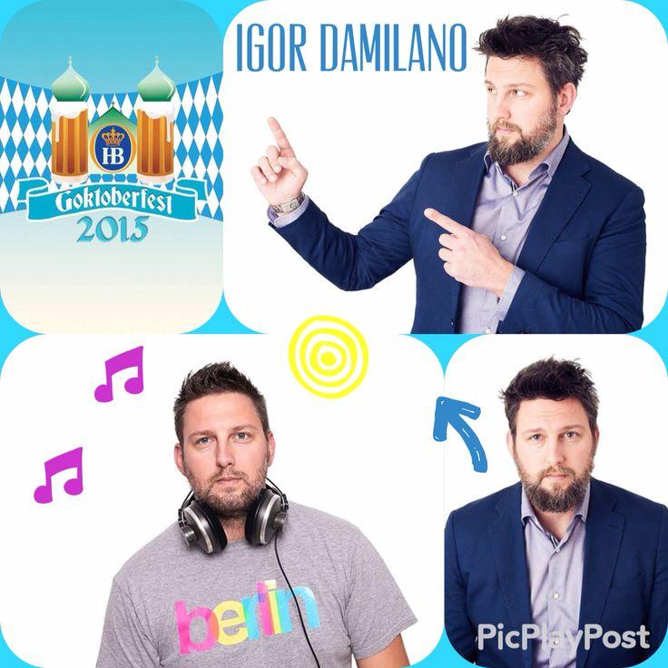 """Intrattenitore delle serate di GOktoberfest 2015 !!!  È scrittore, speaker radiofonico e presentatore.  Simpatico, pieno di energia, Spigliato e sempre con la battuta pronta !!!  Dice di sè: """"Voglio riempire la mia vita, dando spazio alla mente, come da bambini, senza limiti"""".  http://igordamilano.it  https://www.facebook.com/pages/Igor-Damilano/128826657134544"""