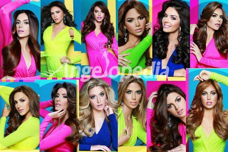 Miss Venezuela 2016 Finalists Official Photoshoot