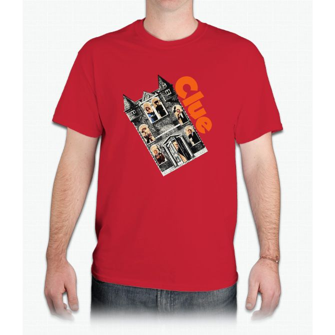Clue Movie Game Funny Bee Movie - Mens T-Shirt