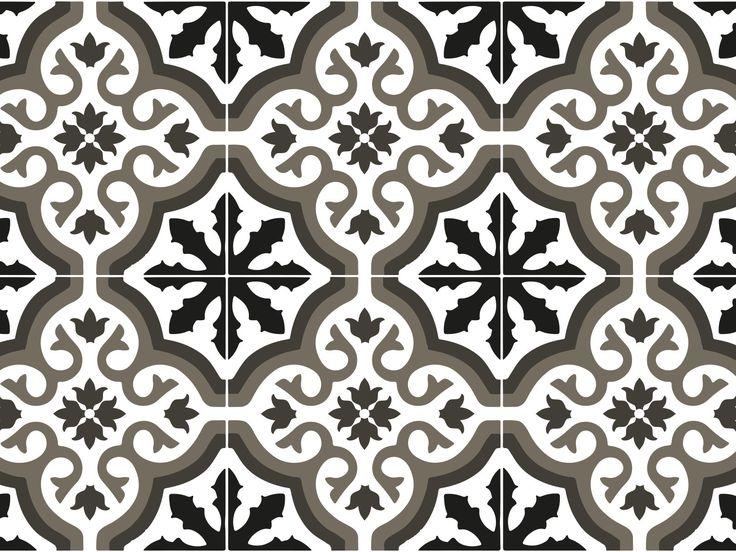 1000 idee su vinyle carreaux de ciment su pinterest sol. Black Bedroom Furniture Sets. Home Design Ideas