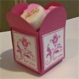 Image detail for -coordinate with the petal card punch the finished box will be ...