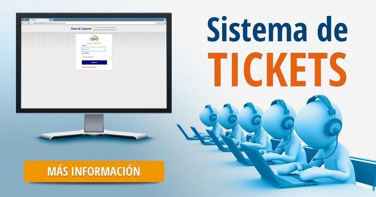 El sistema de tickets le permite informar al departamento de soporte de Sydicol sobre alguna incidencia o requerimiento en el software de #AgilMED